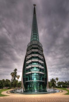 ArcHiteCTurE❤The Bell Tower on the foreshore of Perth,Western Australia. Unusual Buildings, Interesting Buildings, Amazing Buildings, Modern Buildings, Villa Architecture, Futuristic Architecture, Beautiful Architecture, Australian Architecture, Photo D'architecture