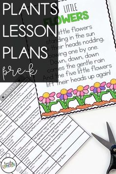 Science in preschool is fun! Teach children all about plants in this fun spring time thematic unit. Lesson plans and printable activities included. Perfect for preschool and pre-k! Preschool Writing, Preschool Lesson Plans, Writing Resources, Writing Activities, Teaching Kids, Kids Learning, Early Reading, Thematic Units, Spring Theme
