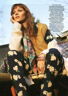 "Dreaming of Dior: ""How to Be a Hippie"" Bree Naumowicz for Twoj Styl Magazine May 2015"