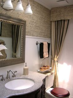 Bathrooms on a Budget: Our 10 Favorites From Rate My Space : Home Improvement : - bedroom - other metro - gracefulvintage