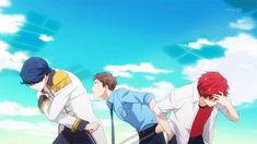 The Black Prince Wolf Girl and Two Sided Prince gifs | Gekkan Shoujo Nozaki-kun