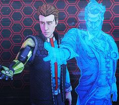 Rhys and handsome jack