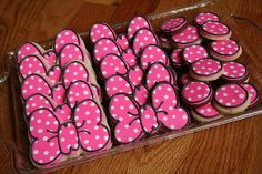 minnie's bow cookies
