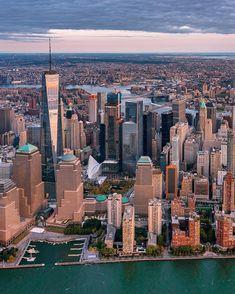 Lower Manhattan | Instagram photo by @greg.rox.photography