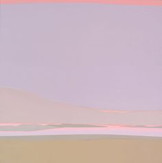 Islands, Helen Lundeberg, 1986, acrylic on canvas