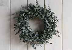 foliage wreath  -  ユーカリのリース