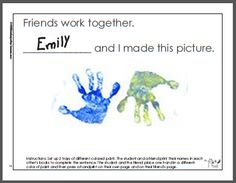 Teach making friends skills by starting the school year with a, Making Friends One Day at a Time, friendship theme. Friendship Theme Preschool, Preschool Family Theme, Friendship Crafts, Friendship Activities, Beginning Of Kindergarten, Kindergarten Lessons, Beginning Of School, Lesson Plans For Toddlers, Preschool Lesson Plans