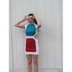 3D glasses costume