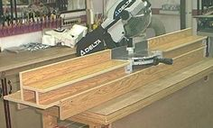 station portative pour scie a onglets portable miter saw station