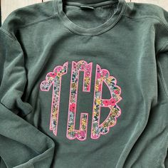 Bachelorette Celebration A Cocktail Gown For Each Physique Sort One of the crucial versatile attire Monogram Sweatshirt, Monogram Shirts, Graphic Sweatshirt, Monogram Clothing, Vinyl Shirts, Vinyl Monogram, Applique Monogram, Monogram Initials, Shirt Embroidery