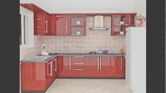 Aluminum kitchen cabinet design