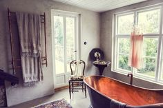 A relaxed, atmospheric family home of Malin Persson.