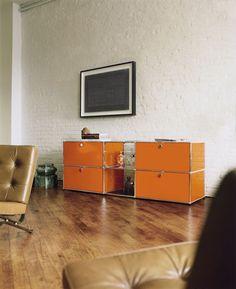 USM Modular furniture. Swiss manufacturer.