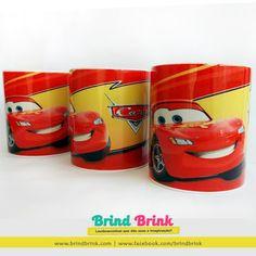 Brind Brink: Carros Disney - Caneca Personalizada