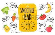Afbeeldingsresultaat voor krijtbord smoothies