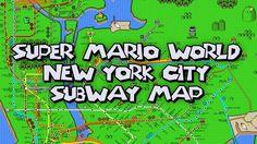 New York City Super Mario World Poster - http://wp.me/p363La-pf