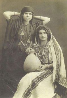 Two Kurdish women from Wan, 1922