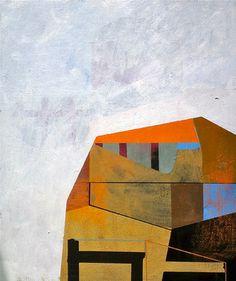 "Saatchi Art Artist Jim  Harris; Painting, ""衛星都市"" #art"