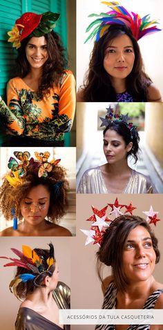 Dicas de acessórios para a cabeça de Helena Lunardelli para dar um toque diferenciado no seu look de carnaval.