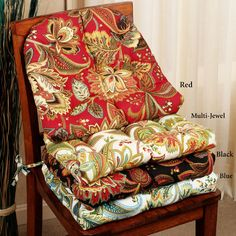 Sewing Tutorial For Dining Room Chair Cushions Sewing Ideas Pinterest Chair Pads Chair