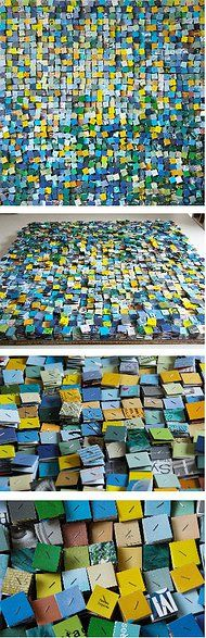 paola bazz paper art, paintings and drawings | PAPER ARTWORKS