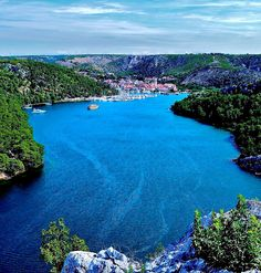 The Town of Skradin, situated only about 15 km from Šibenik, represents one of the oldest Croatian cities.