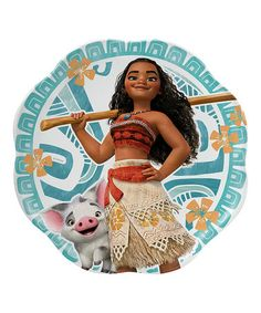 Look at this #zulilyfind! Moana Petal Plate by Disney's Moana #zulilyfinds