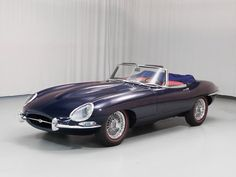 1964 JAGUAR XKE.  Beautiful car.  A friend is letting me drive his (around the block)
