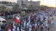"""#Bahrain: gigantic march """"insists on democracy"""""""