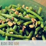 Savory Green Beans and Ham Recipe