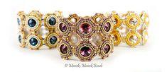 Tide Pools : Helena Tang-Lim   Manek-Manek Beads - Jewelry   Kits   Tutorials   Workshops