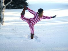22 best yoga in the snow images  online yoga yoga