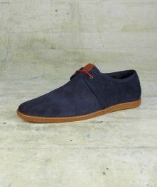 Aldwych Unlined Suede Shoe-Fred Perry