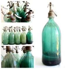 old syphon bottles at www.coastalvintage.com.au