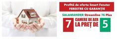 Promotie  Salamander : 7 camere la pret de 5 camere cu feronerie ROTO Constructii comunicate de presa