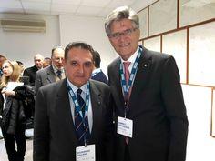 Il Consigliere Diplomatico Raimondo VILLANO con l'Ambasciatore della Reale Ambasciata di Norvegia presso la Repubblica Italiana Biørn T. GRYDELAND alla Conferenza internazionale sull'Artico (Roma, Centro Nazionale delle Ricerche, 5 dicembre 2016).