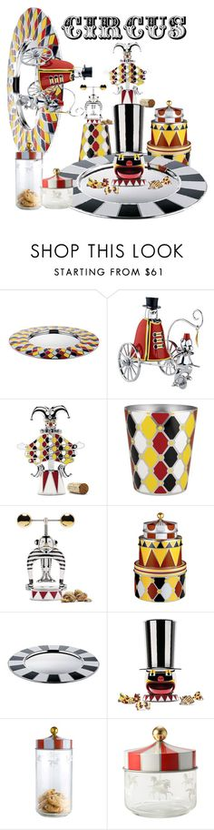 """""""Alessi - Circus Home Collection"""" by stephanie-mcclaran ❤ liked on Polyvore featuring interior, interiors, interior design, home, home decor, interior decorating and Alessi"""