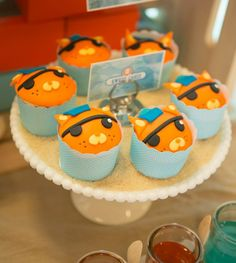 Octonauts, Report to Your stations: Kwazii cupcakes