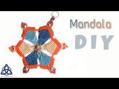 Macrame Mandala Flower DIY - YouTube
