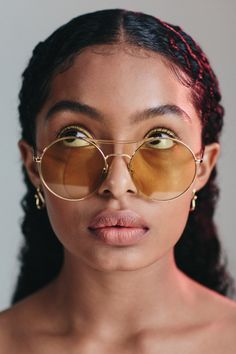 Yara Shahidi Wears the Coolest Makeup Looks of the Year