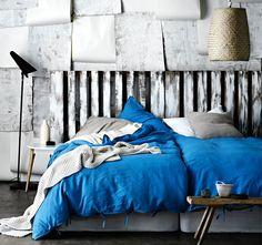 Aura Maison Quilt Cover Range Brilliant Blue