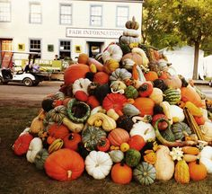 Pumpkin tower @ CLFair Ohio 2013