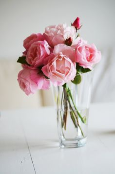 vase of peonies, top five favorite.  Probably tied with #1 or maybe #2. Must be pink!