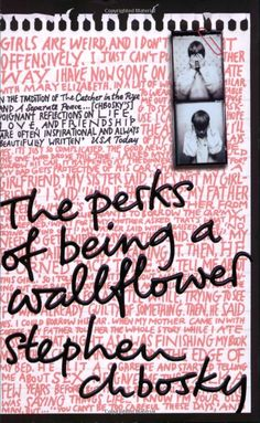 Everyone go read this. most beautiful book ever  'The Perks of Being a Wallflower' by Stephen Chbosky