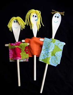 marionetas recicladas