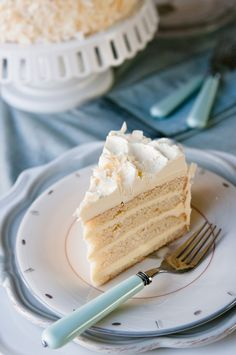 coconut cream cake...