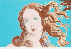 Andy Warhol: Details of Renaissance Paintings (Sandro Botticelli, Birth of Venus, 1482), 1984
