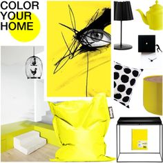 A home decor collage from February 2015