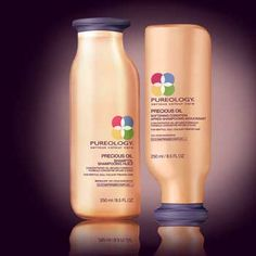 Pureology - Precious Oil:: for dry, brittle hair and the difference it makes in the hair is PHENOM. fyi...it smells like a bit of Heaven, too.