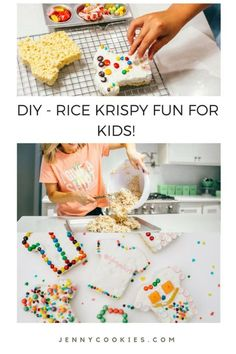 Fun Rice Krispy Trea